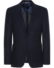 Canali Dark blue ultra-light blazer in pure wool-1_1