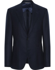 Canali Navy blue pure wool ultra light blazer-1_0