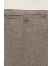 Canali Beige pure wool dress pants-1_4