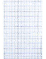 Canali White and light blue micro check dress shirt in pure cotton-1_1