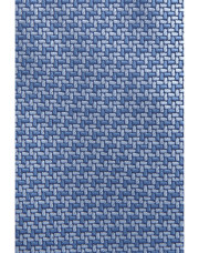 Canali Light blue silk tie with bicolored woven pattern-1_1