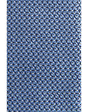 Canali Light blue silk tie with optical pattern-1_1