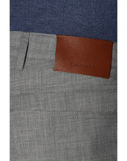 Canali Light gray 5-pocket pants in Impeccabile wool-1_3