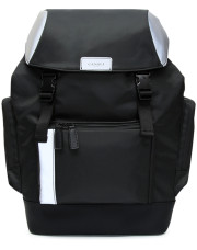 Canali Black Edition backpack with white details-1_0