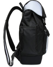 Canali Black Edition backpack with white details-1_2