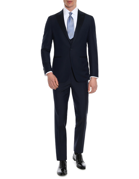 Canali Navy tuxedo in pure wool-2_0