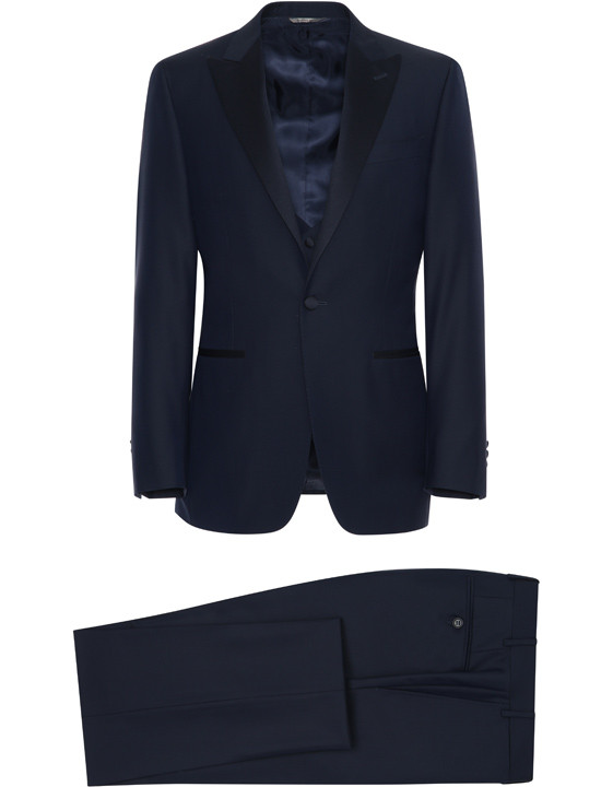 Canali Navy tuxedo in pure wool-2_1