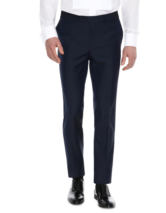 Canali Navy tuxedo in pure wool-2_4