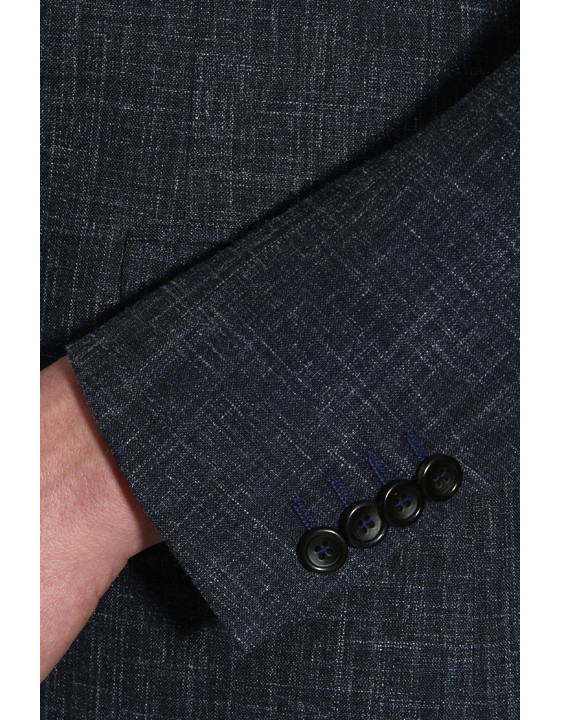 Canali Blue Kei suit in woolndsilkndlinen blend-2_2