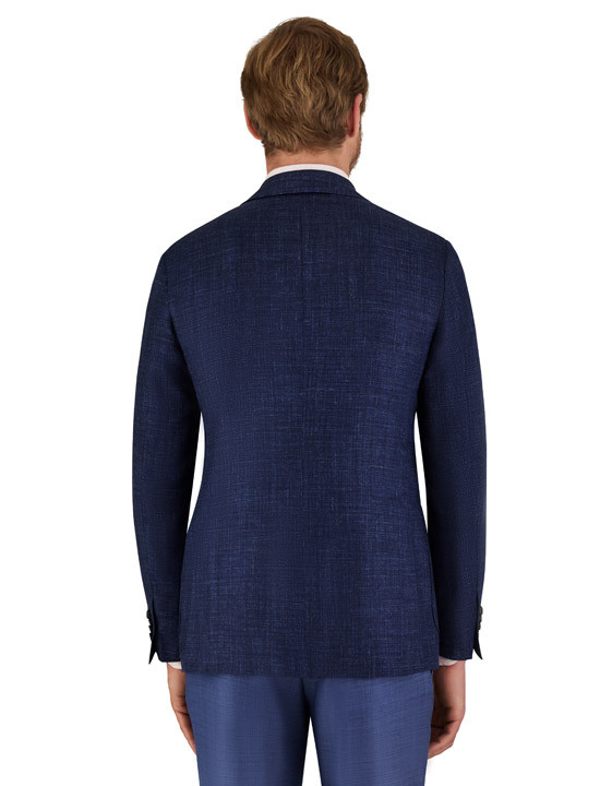 Canali Blue Kei blazer in wool-silk-linen blend-2_3