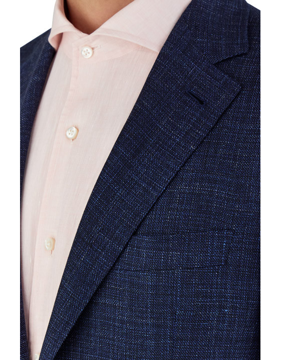 Canali Blue Kei blazer in wool-silk-linen blend-2_4