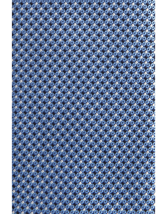 Canali Light blue silk tie with optical pattern-2_1