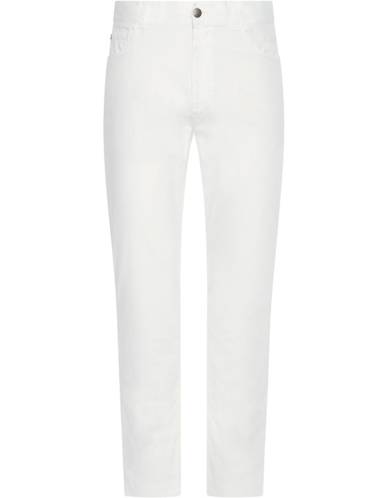 Canali White 5-pocket pants in stretch-cotton-2_1