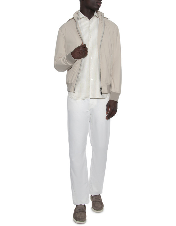 Canali White 5-pocket pants in stretch-cotton-2_5