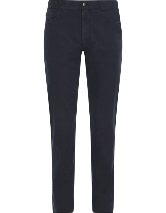 Canali Navy 5-pocket pants in stretch-cotton-2_1