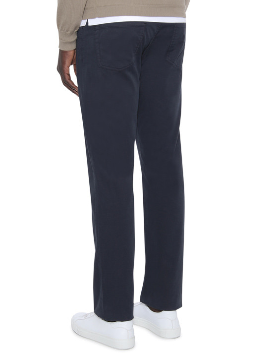 Canali Navy 5-pocket pants in stretch-cotton-2_2