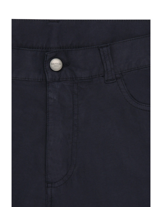 Canali Navy 5-pocket pants in stretch-cotton-2_4