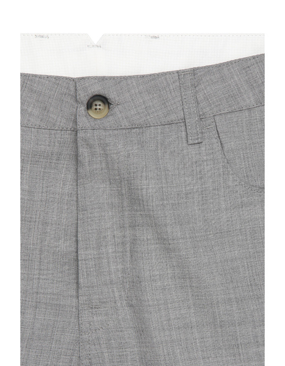 Canali Light gray 5-pocket pants in Impeccabile wool-2_4