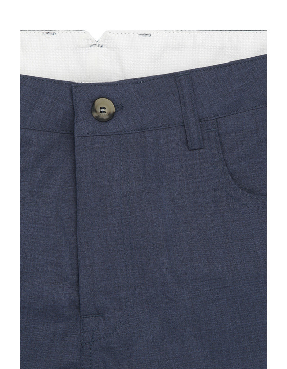 Canali Dark blue 5-pocket pants in Impeccabile wool-2_4