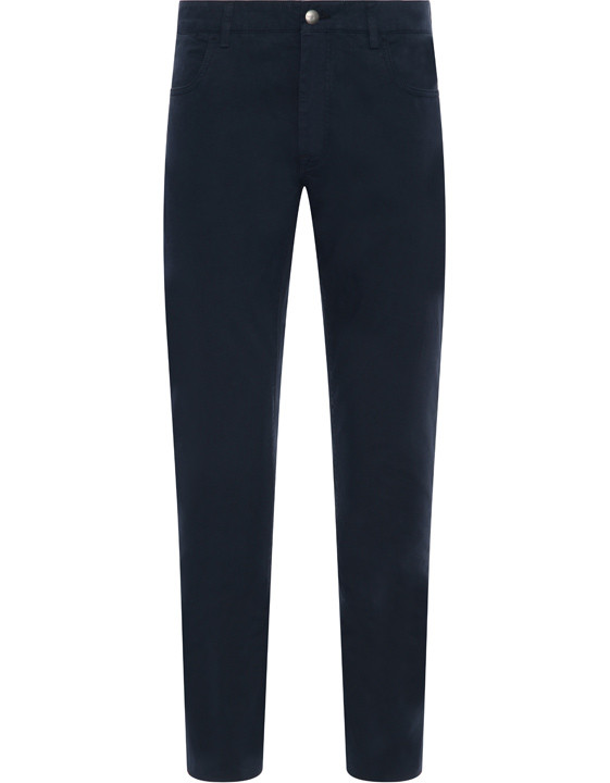 Canali Navy 5-pocket pants in stretch-cotton-2_0