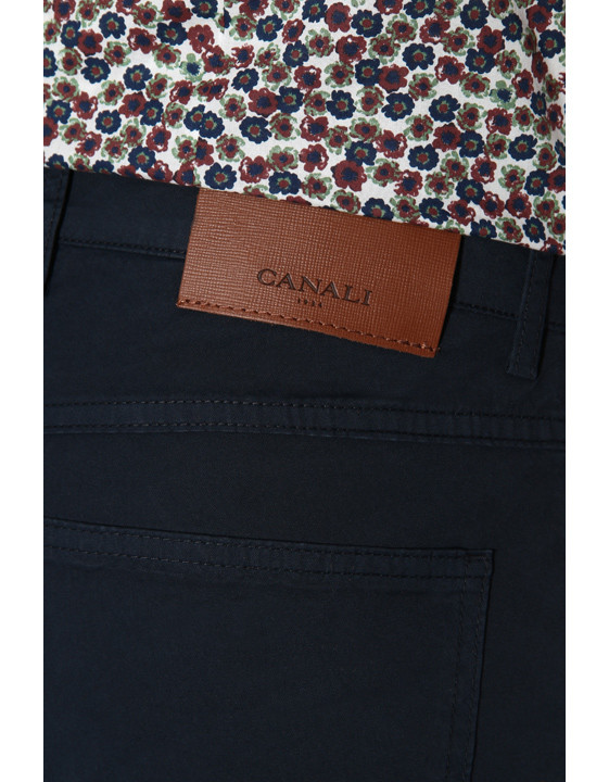 Canali Navy 5-pocket pants in stretch-cotton-2_3