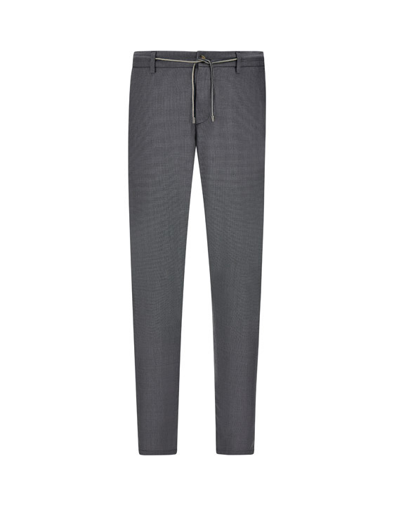 Canali Gray Impeccabile wool chinos with drawstring-2_0