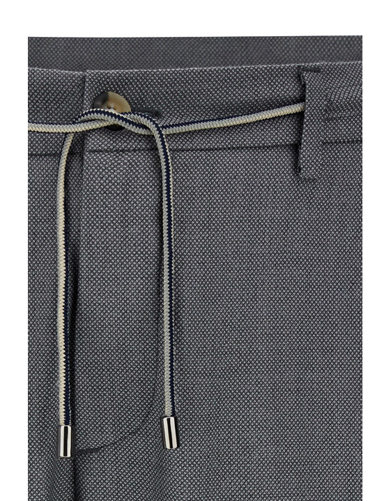Canali Gray Impeccabile wool chinos with drawstring-2_5