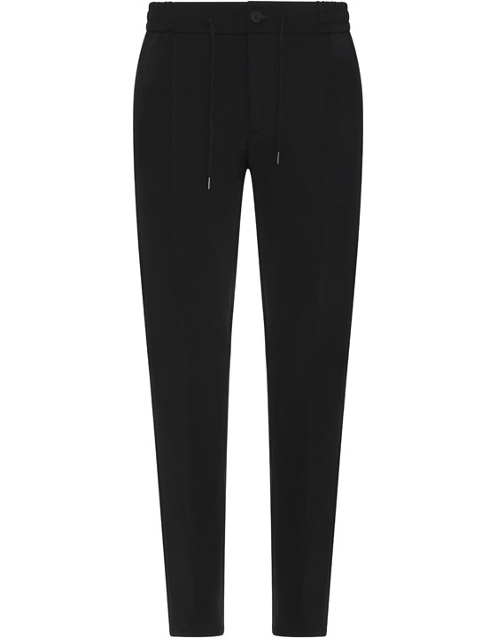 Canali Black Edition chinos with drawstring-2_0