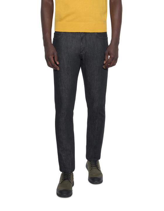 Canali Black Edition Slim Fit jeans-2_0
