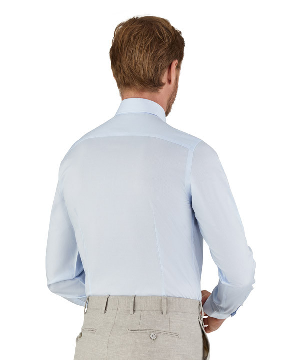 Canali Microfancy Impeccabile slim fit shirt light blue-2_2
