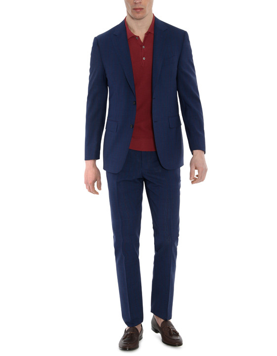 Canali Dark blue Exclusive suit in Super 150's wool-2_0