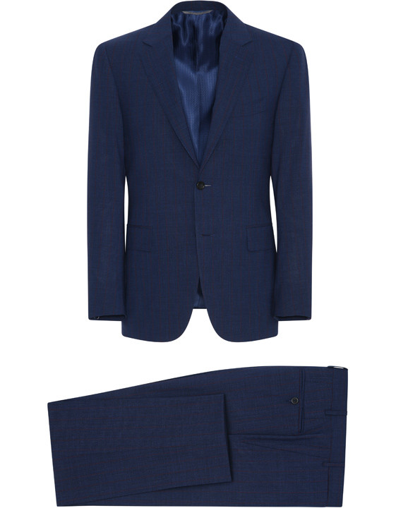 Canali Dark blue Exclusive suit in Super 150's wool-2_1