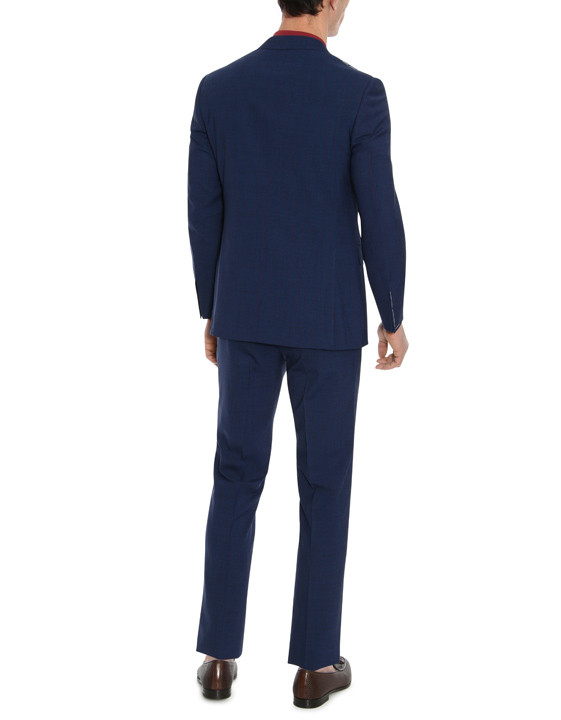 Canali Dark blue Exclusive suit in Super 150's wool-2_3
