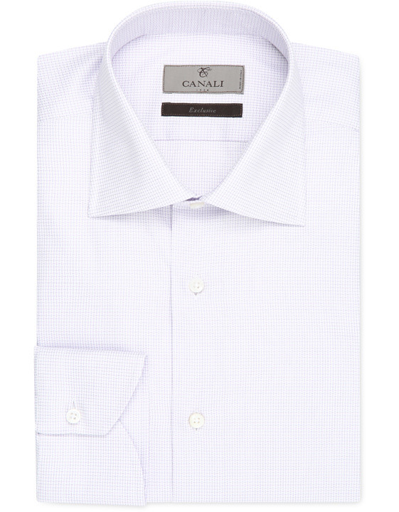 Cotton modern fit shirt - Exclusive