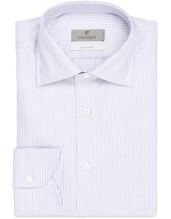Impeccabile cotton modern fit shirt