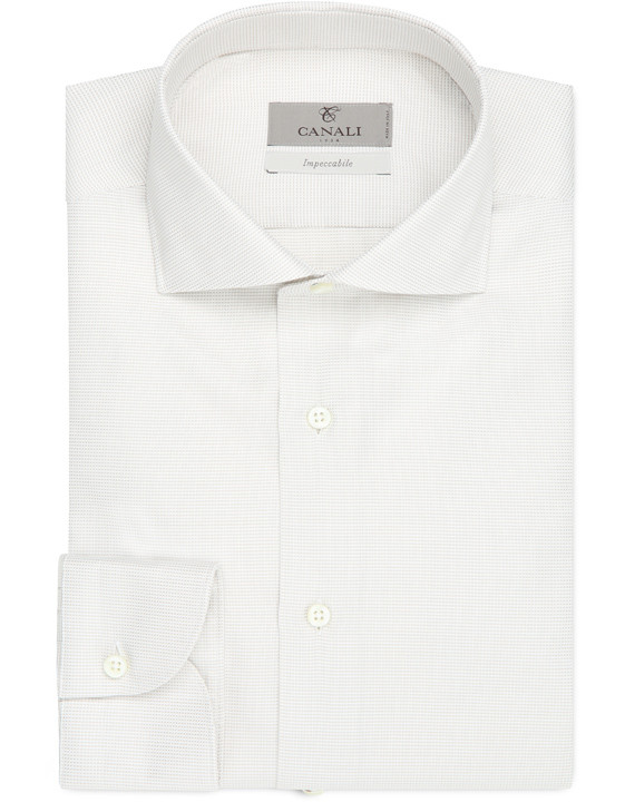 Impeccabile cotton slim fit shirt