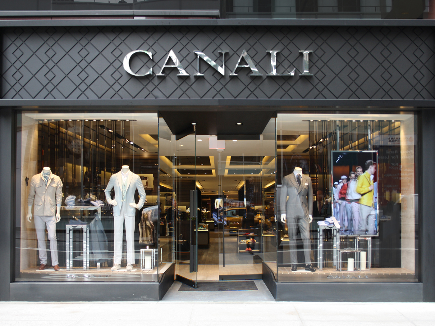 New york style clothing store