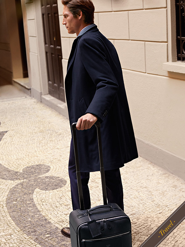 Packing tips for short trips: your style essentials in a carry-on | Canali