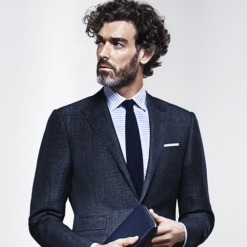 Springtime Blues - elegant Spring Summer looks for men | Canali.com