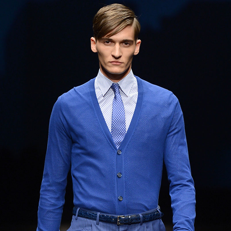Blue is the most fashionable colour for business suits | Canali