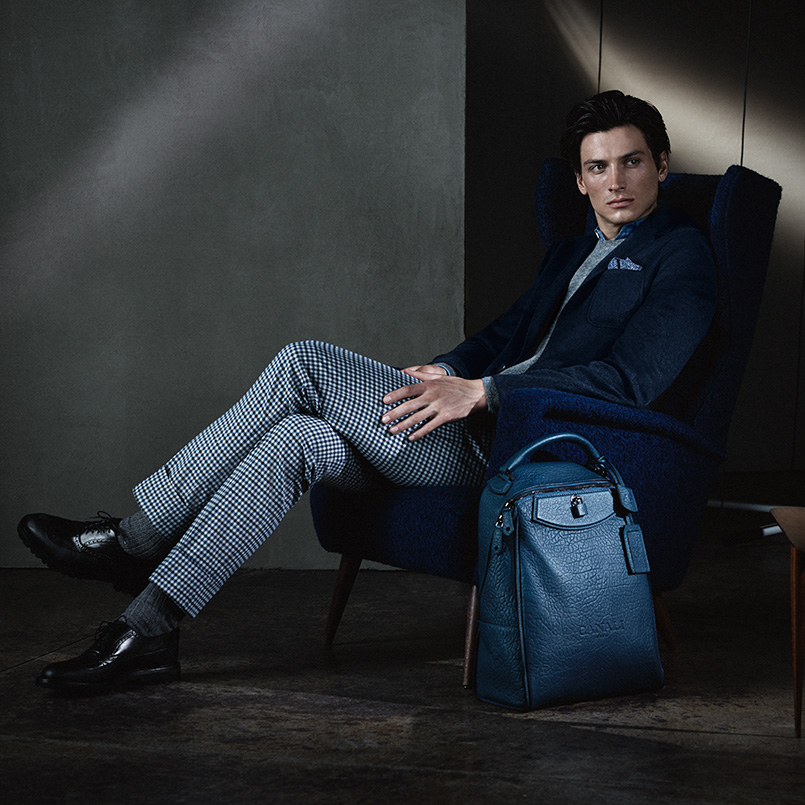 Blue clothes for men to be cool - Canali