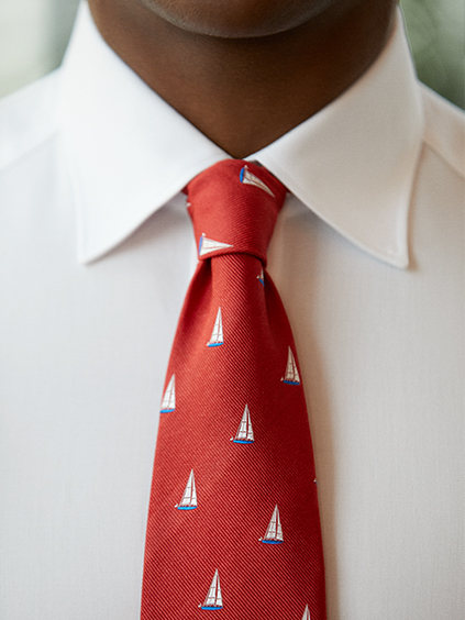 Spring Summer ties with elegant motifs for men | Canali.com