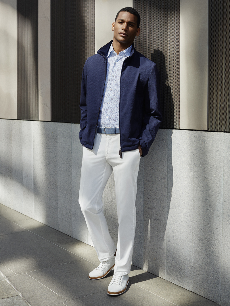 How to dress at Roland Garros: casual elegance and blue hues | Canali