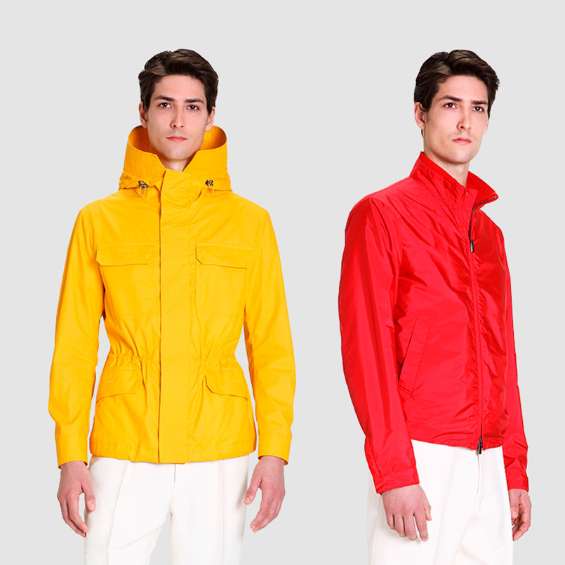Canali rain Jacket for men