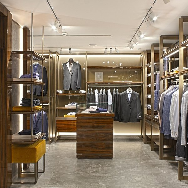 New Canali boutique at Harrods