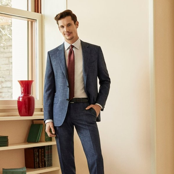 04effaa8e9 @canali1934 • Find the style that best suits you by mix and matching formal  and casual pieces. Learn more about our dynamic summer line in our bio.