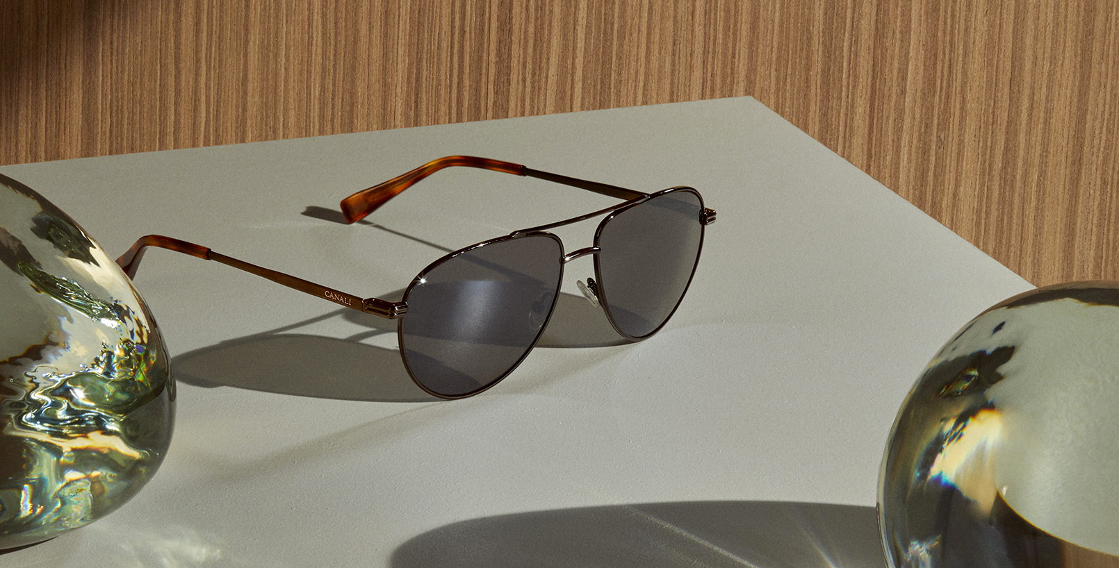 Canali Eyewear Collection:<br>elegance at first sight.