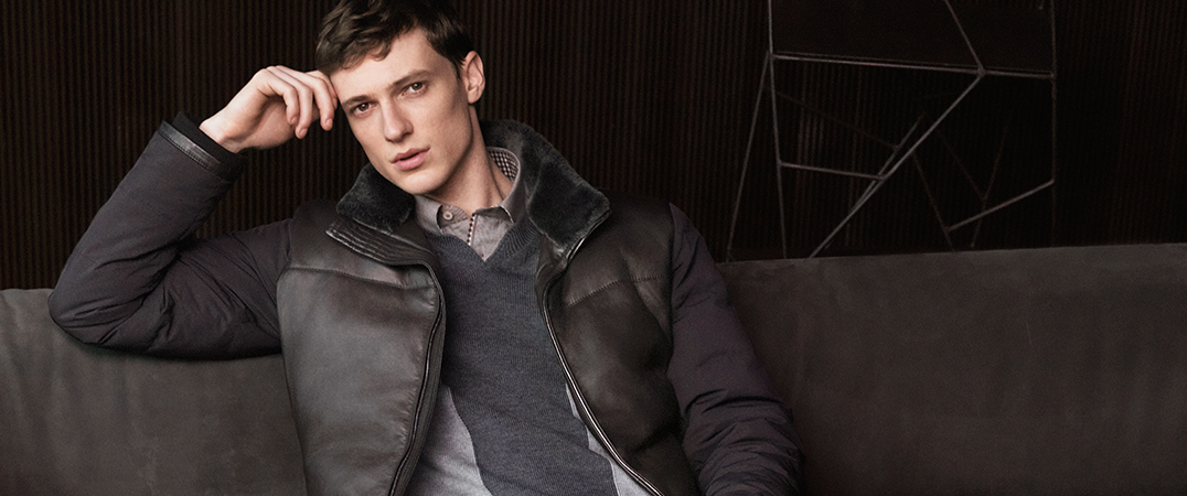 Canali LEATHER JACKETS