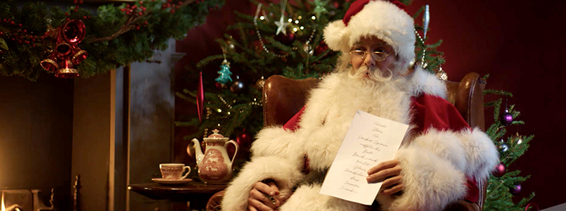 Canali Even Santa has a Wish List