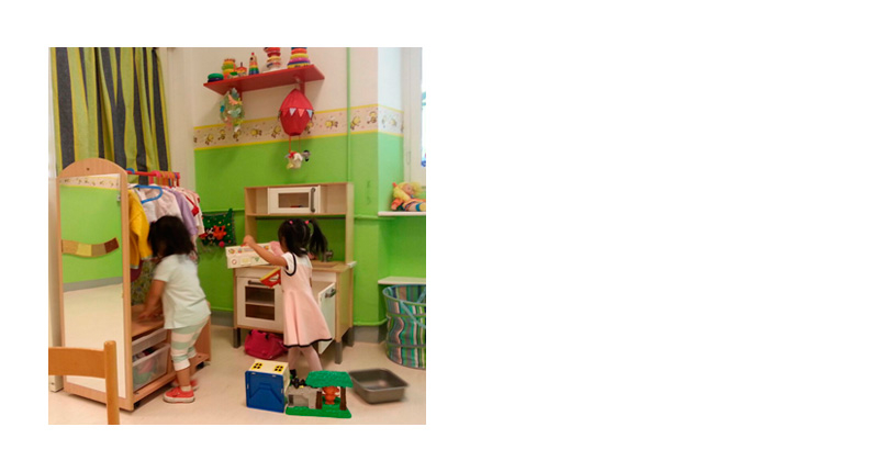 CENTRO DIURNO NIDO D'APE<BR>(HONEYCOMB DAYCARE CENTER)